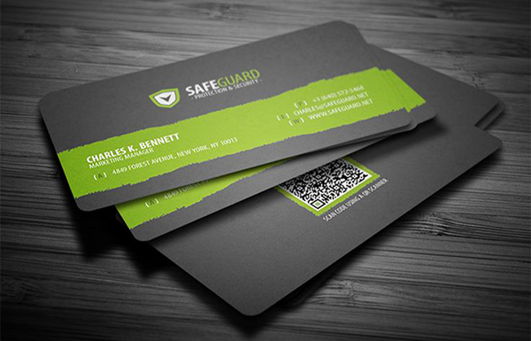 CYMK business cards